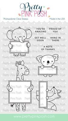 Animal Signs Stamp Set