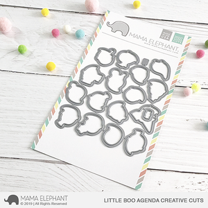 Mama Elephant Little Boo Agenda Creative Cuts