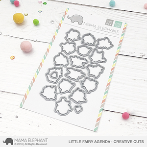 Mama Elephant Little Fairy Agenda Creative Cuts