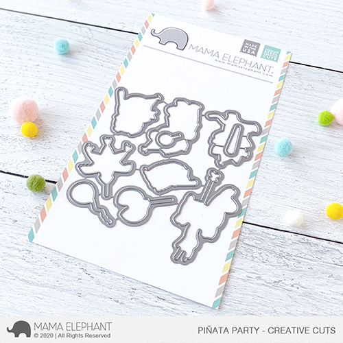 Mama Elephant Piñata Party Creative Cuts