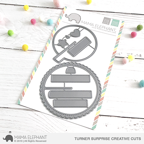 Mama Elephant Turner Surprise Creative Cuts