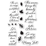 CL485 Autumn Leaves stamp set
