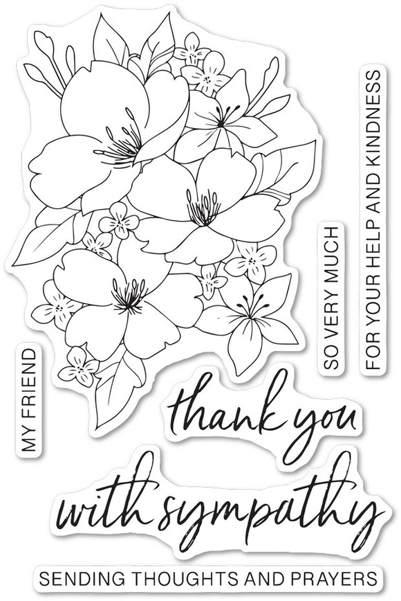 CLF104 Thoughts and Prayer stamp set