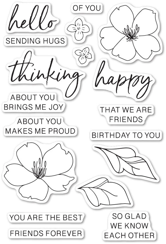 CLF105 Friends Forever stamp set