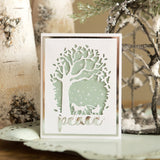 D115 Orchard Tree Collage craft die