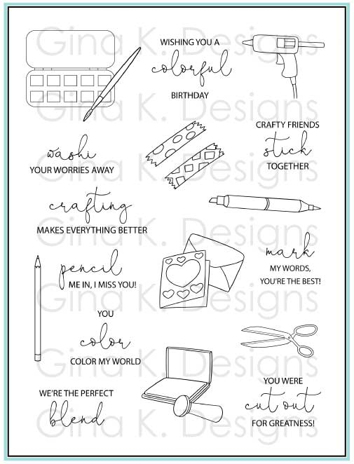 Craft Notoess Clear Stamps