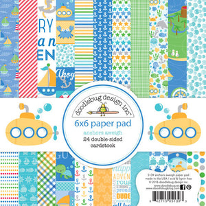 5134 Anchors Aweigh 12x12 paper pack