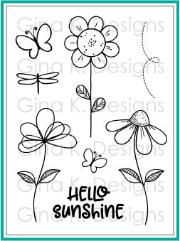 Hello Sunshine Clear Stamps
