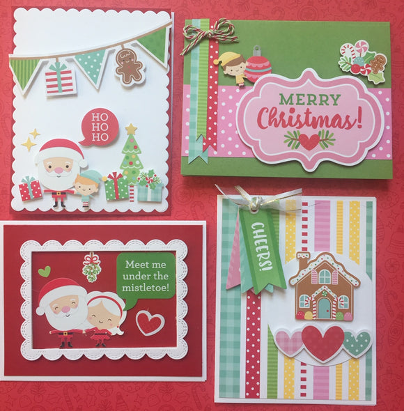Christmas Card Kit for OOAK Christmas in July