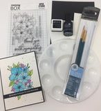 Watercolor Craft Kit for OOAK Virtual Event 10/3