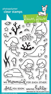 LF1167 Mermaid For You Stamp Set