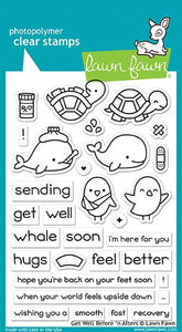 LF1886 Get Well Before 'n Afters Stamp Set