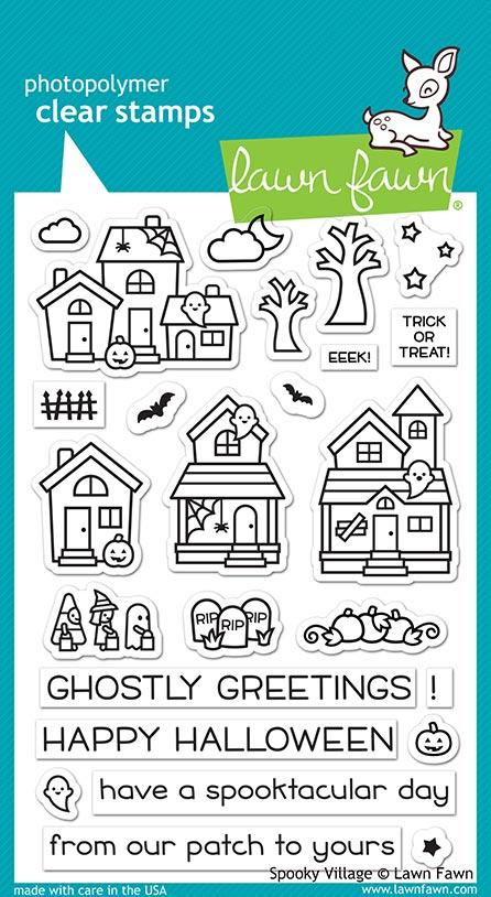 LF2014 - Spooky Village Stamp Set