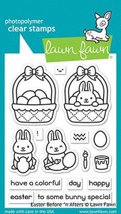 LF2230 Easter Before 'n After Stamp Set