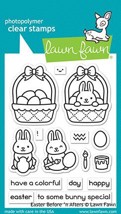 LF2231 Easter Before 'n After Stamp Set