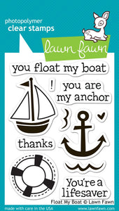 LF654 Float My Boat Stamp Set