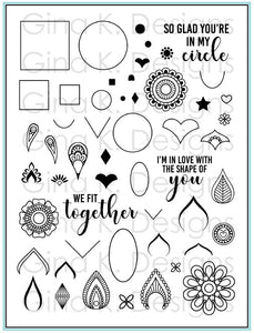 Mandala Maker Clear Stamps