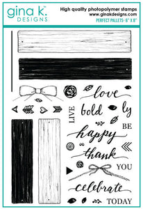 Perfect Pallets Stamp Set