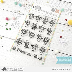 Mama Elephant Little Elf Agenda