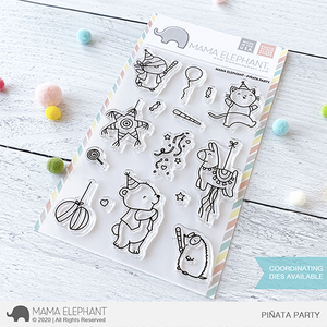 Mama Elephant Piñata Party