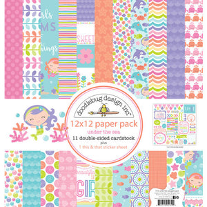 5132 Under the Sea 12x12 Paper Pack