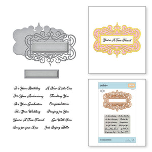 SDS-166 All Occasion Sentiments