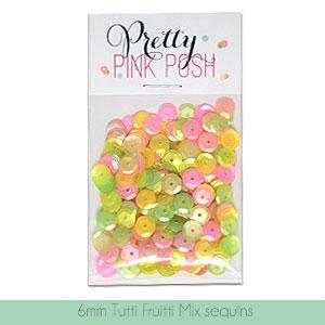 6mm Tutti Fruitti Sequins Mix