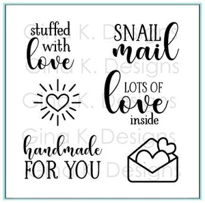 Stuffed With Love Mini Clear Stamps