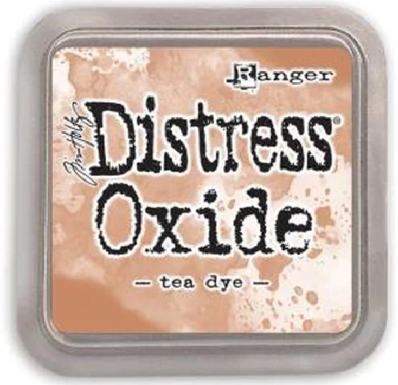 Distress Oxide Ink Pad - Tea Dye