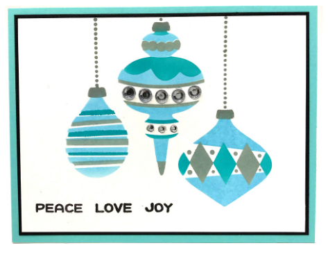 Holiday Baubles Card Kit for OOAK Virtual Event
