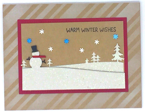 Winter Wishes Card Kit for OOAK Virtual Event on 12/5