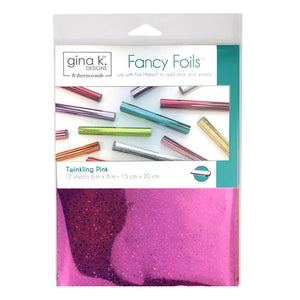 18071 Fancy Foils™ Twinkling Pink