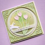 94216 Springtime Tulips craft die