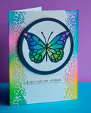 94220 Delicate Butterfly craft die