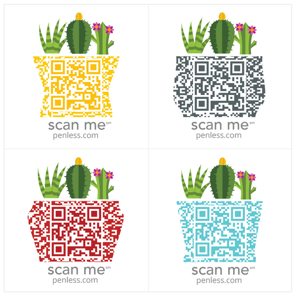 Penless Cactus Sticker Pack