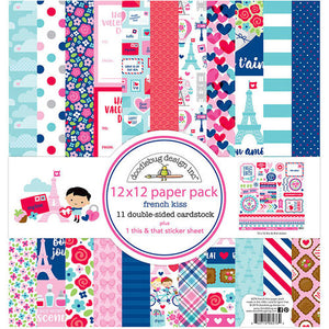 6276 French Kiss 12x12 Paper Pack