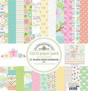 5525 Spring Things 12x12 Paper Pack