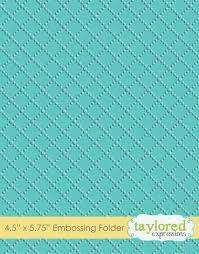 Dotted Lattice Embossing Folder