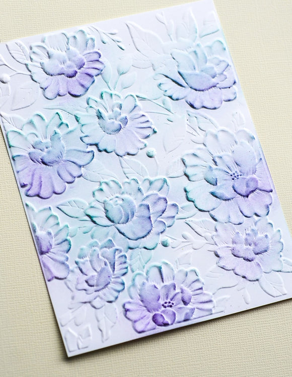 EF1014 Blooming Embossing Folder