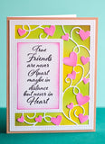 2152 Ribbon Heart Sidekick Frame and Stencil