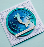 94222 Mermaid Wonder Frame craft die