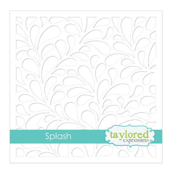 Taylored Expressions - Splash Stencil