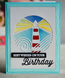 99964 Lighthouse Collage craft die