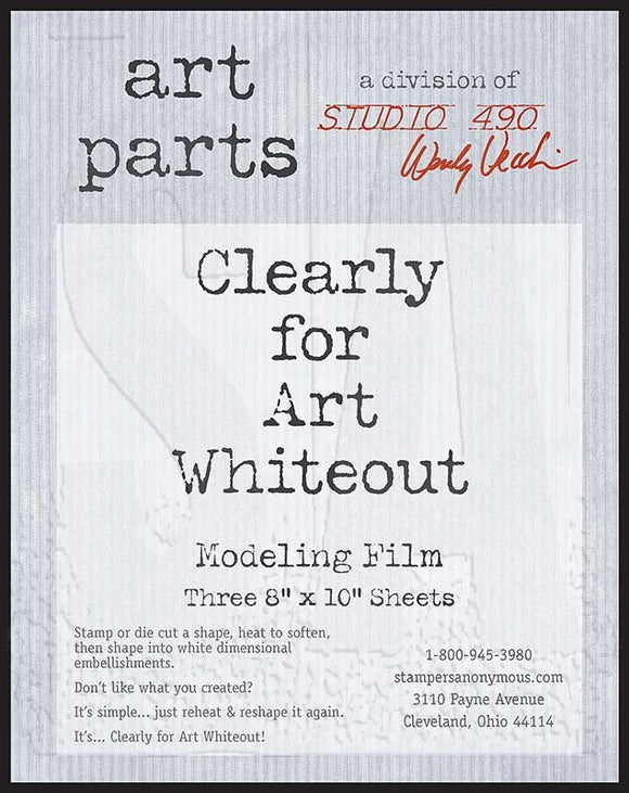 Studio 490 Art Parts - Clearly for Art Whiteout