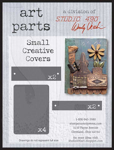 Studio 490 Art Parts - Small Creative Covers