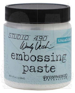 Studio 490 Embossing Paste - Translucent
