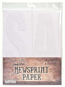 WVNEWS Newsprint paper 50 sheets