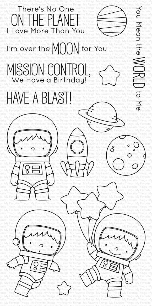 BB-043 Space Explorer Stamp Set