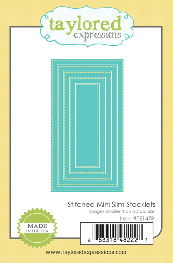 Taylored Expressions - Stitched Mini Slim Stacklets