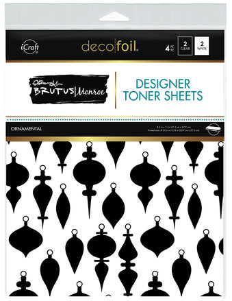 Deco Foil™ Clear Toner Sheets •  Ornamental